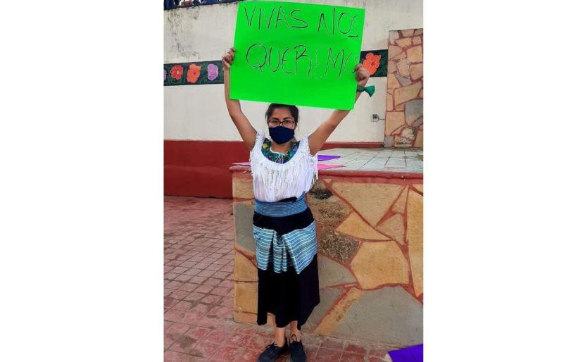 denuncia indigena chiapas - Amenazan a indígena tzeltal por organizar protestas contra la violencia de género en Chilón