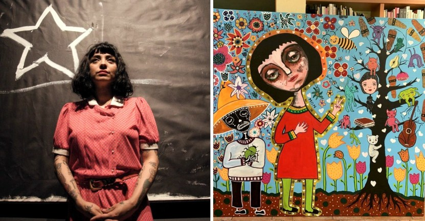 "portada mon laferte anuncio pronto abrira propia galeria tienda arte artista versatil - Mon Laferte anunció que ""pronto"" abrirá su propia galería y tienda de arte. Es una artista versátil"