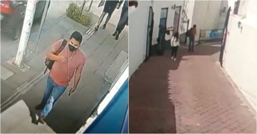 sujeto puebla scaled - VIDEO: Hombre persigue y agrede sexualmente a una mujer en callejón de Puebla; autoridades lo buscan