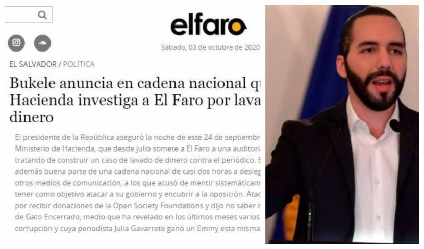 amenazas bukele el faro scaled - El presidente Bukele amenaza a El Faro, periódico digital de América Latina