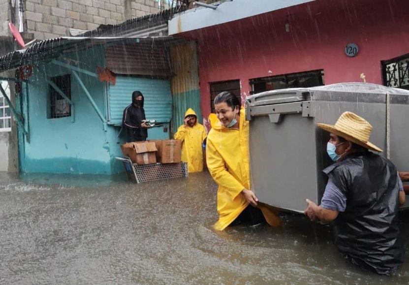 lluvia tabasco - Medio millón de personas afectadas por lluvias en Tabasco
