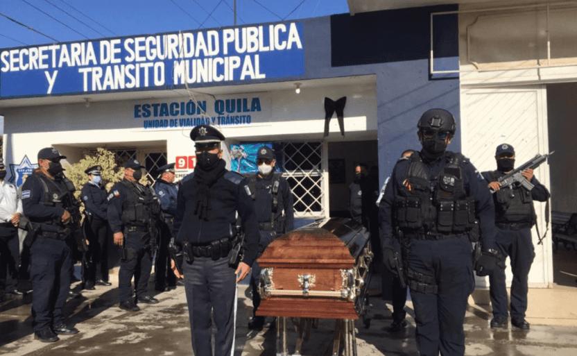 homenaje policia.png 242310155 - Entre honores despiden a Edén Jasser, policía de Eldorado