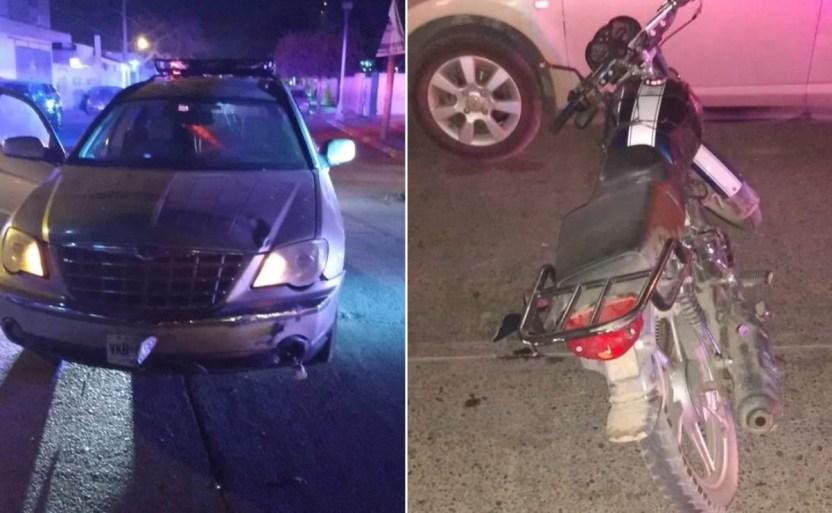 menor de edad se lesiona al estrellarse en su moto contra camioneta crop1609176901272.jpg 242310155 - Menor de edad se lesiona al estrellarse en su moto en Guasave