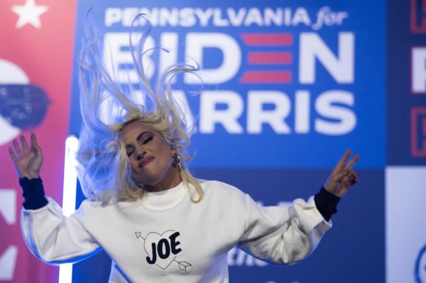 000 8UF42X - Lady Gaga en el Capitolio como jamás pensaste verla