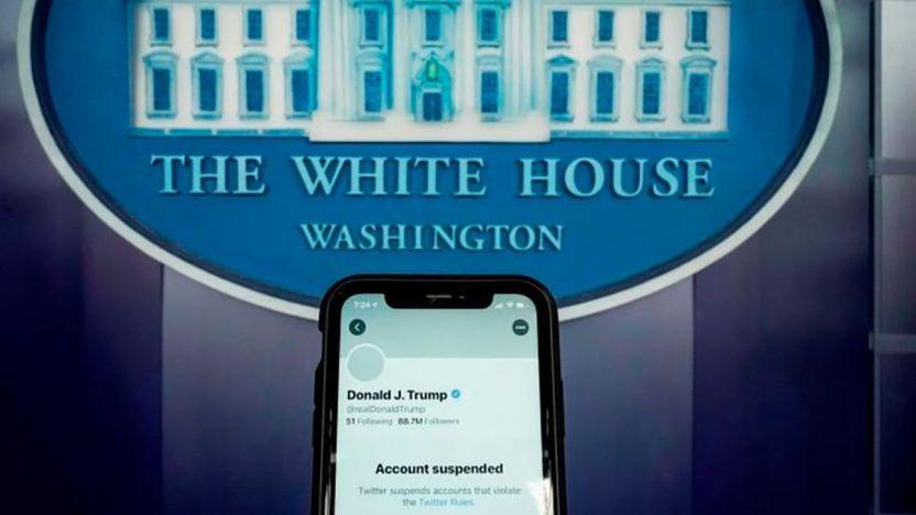 116498194 c630ce81 bebe 4a3e b4a3 87ec4594f7fb 1 - Cómo las redes sociales silenciaron a Trump (y el debate sobre la libertad de expresión que generó)