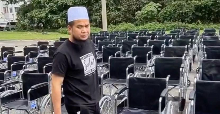 """Fondo benefactor malasia silla de rueda - """"Si se acaban, conseguiremos más"""": filántropo de Malasia donará 150 sillas de ruedas a beneficio"""