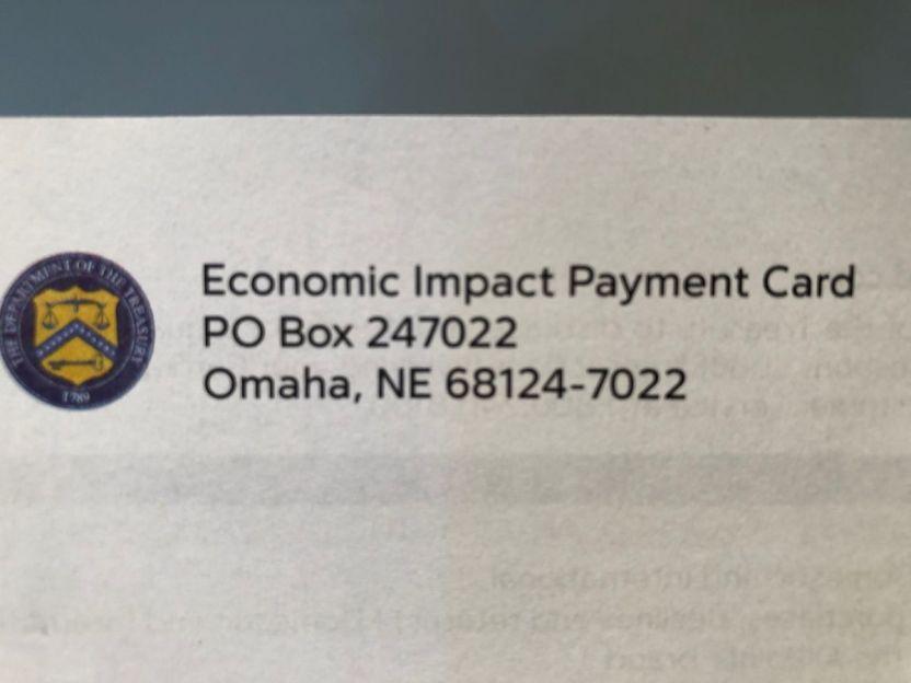 IMG 0667 - Recibí el cheque de estímulo, pero casi se fue a la basura por culpa de un sobre que no parece oficial