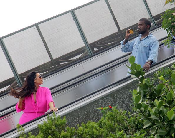 Kanye West Kim Kardashian Kanye West Rio de COlbf1Suf71l - Discusiones y peleas: Kanye West y Kim Kardashian se separaron por culpa de la cuarentena