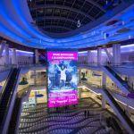 Pantalla LED de interiores para centro comercial - Pantalla LED de interiores para centro comercial