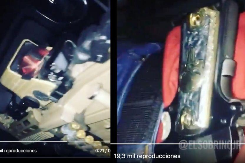 VIDEO  Con narcocorrido y pistola bañada en oro sicario del narco patrulla territorio de Caro Quintero  - VIDEO: Con narcocorrido y pistola bañada en oro, sicario del narco patrulla territorio de Caro Quintero