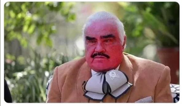 Vicente - ¿Qué le pasó? La extraña apariencia de Vicente Fernández generó memes en Twitter