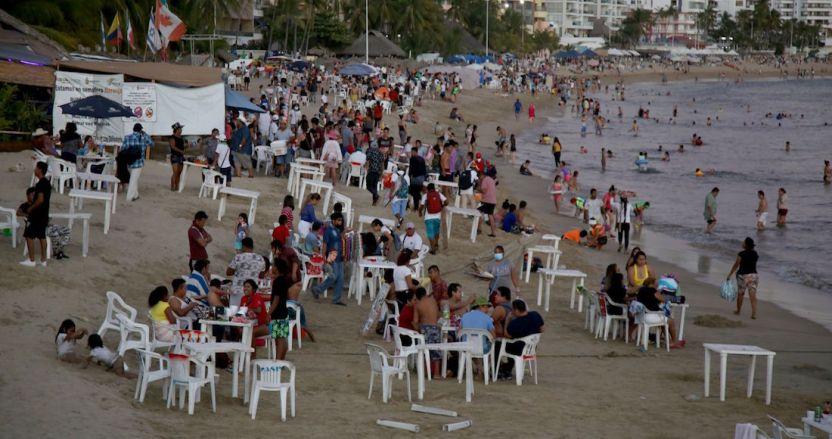 acapulco - Acapulco, Chilpancingo y Zihuatanejo regresan a Semáforo Naranja por la COVID: Astudillo
