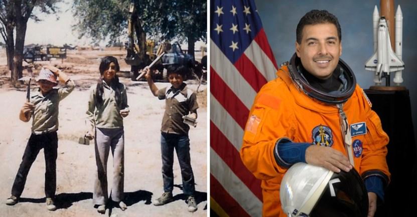 """astronauta campo objetivos - Pasó de trabajar en el campo a ser un astronauta: """"No hay que tener miedo de soñar en grande"""""""