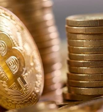 bitcoin moneda oro - Inversores institucionales ven al bitcoin como refugio a inflación y se acerca a los 42 mil dólares