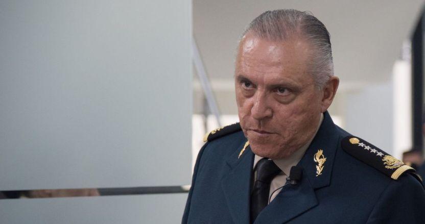 cienfuegos 3 - La FGR insiste en que en el caso de Cienfuegos no encontró rastro de delito; informa del fallo a EU