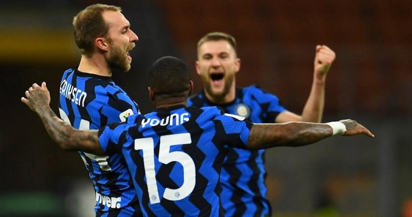 eriksen - El Inter avanza a semifinales de la Copa Italia tras vencer al Milan gracias a un gol agónico de Eriksen