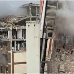explosion edificio madrid toledo video - Una fuerte explosión destroza un edificio en calles del centro de Madrid; difunden VIDEOS en redes
