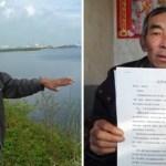 granjero estudio derecho  - Agricultor estudió leyes por 16 años para demandar a la empresa que contaminaba sus tierras. Y ganó