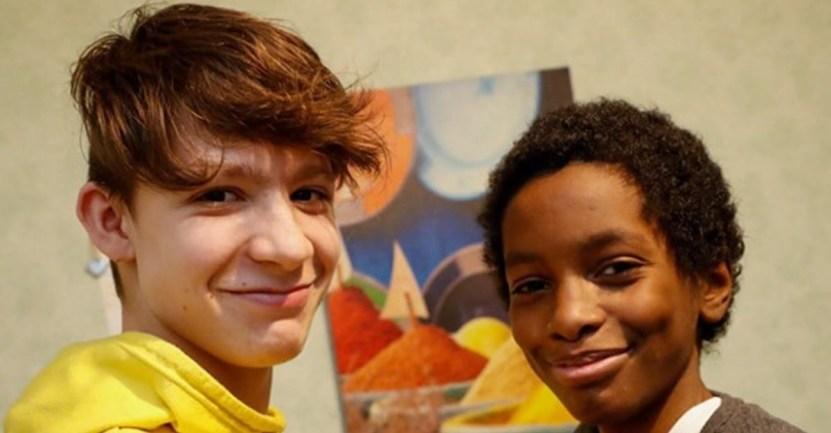 heroes adolescentes franceses  - Estado francés premiará a dos adolescentes por haber salvado a un niño del agua helada. Son héroes