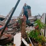 indonesia sismo - Un sismo de magnitud 6.2 azota a Indonesia; reportan al menos 34 muertos y más de 600 heridos