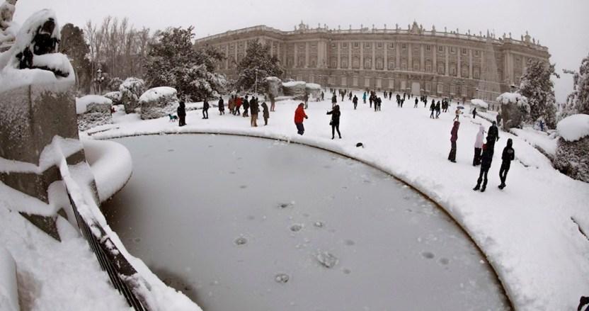 madrid nevada - FOTOS: Madrid amanece cubierta de nieve; autoridades piden no realizar desplazamientos innecesarios