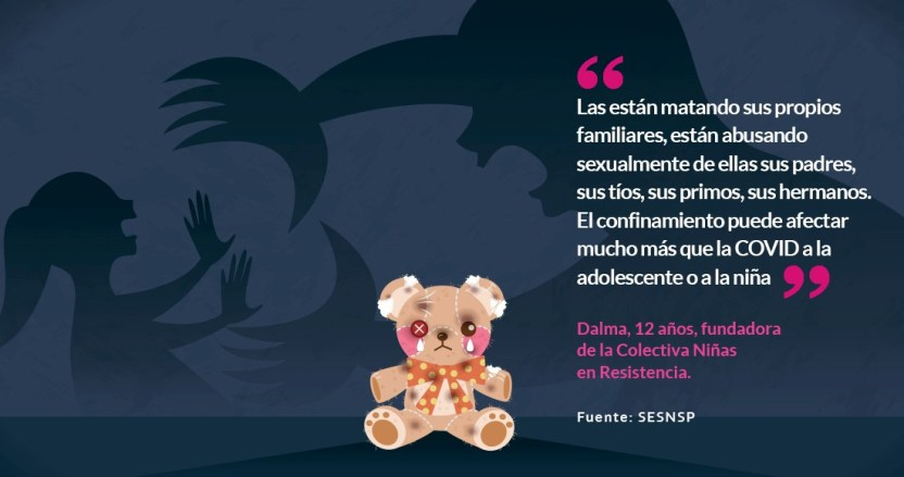 mujeres ninas - El virus fue benévolo con niñas y adolescentes. Su país, no. En 2021 no verán el sol | #LaResistencia