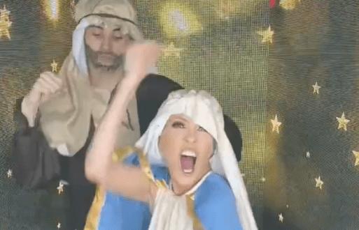 yuri - Cantante mexicana Yuri fue criticada por bailar disfrazada de Virgen María (VIDEO)