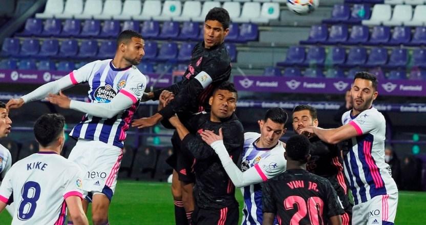 real madrid - Carlos Casemiro le da la victoria a Real Madrid durante su encuentro ante el Valladolid