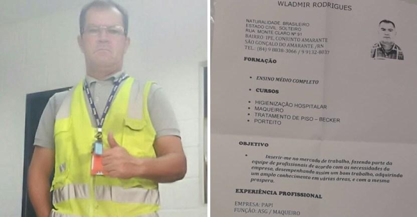 wladimir portada - Hombre que caminaba 25 km diarios para conseguir trabajo recibió 200 ofertas de empleo. Lo ayudaron