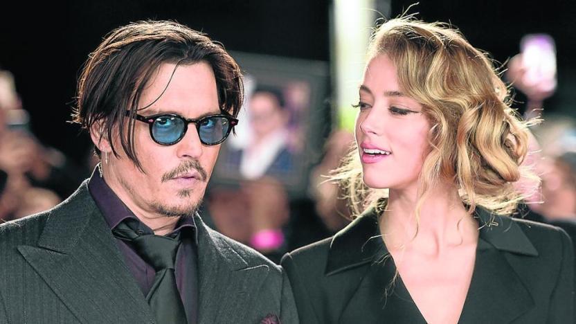 Amber Heard y Johnny Depp - Johnny Depp no podrá apelar el fallo que lo acusó de maltratar a Amber Heard