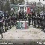 Grupo Élite del CJNG graba video con dron dicen que guerra no es con el pueblo ni el Gobierno - FOTOS: Desmantelan narcocampamento en zona donde el CJNG sufrió derrota