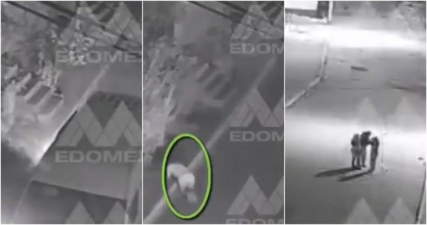 mujer combi - VIDEO: Conductor de una combi arroja a una mujer en calles de Edomex; la habría asaltado y secuestrado