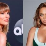 taylor beyonce - Taylor Swift y Beyoncé podrían hacer historia en la próxima ceremonia de los Premios Grammy