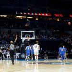 GettyImages 1310682301 - La canasta del siglo: Gonzaga avanza a la final de la NCAA gracias a un tiro desde media cancha