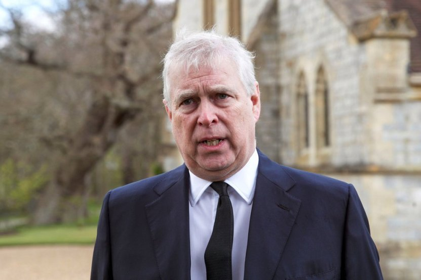 X5MSWRMXEHXWTDDZBBPIYE56RY - El incómodo pedido del príncipe Andrés a la reina para despedir a su padre, el Duque de Edimburgo