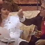 enrique y veronica en mala noche no - La red revive VIDEO en el que se ve a Enrique Guzmán acosando a Verónica Castro al tocarle el busto