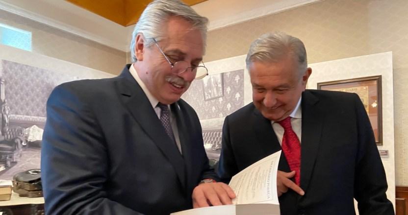 """eyd7b8suyaasmge 1 1 - """"Alberto Fernández, amigo y Presidente de Argentina: deseo que te recuperes pronto"""": AMLO"""