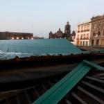 templo mayor 2 - Autoridades dicen que el techo colapsado del Templo Mayor salvó la zona arqueológica