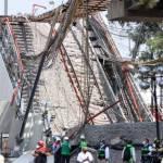 ACCIDENTE LINEA 12  - Muere la víctima 26 tras desplome en la Línea 12 del Metro