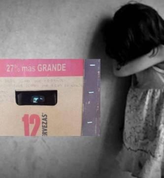Diseno sin titulo 2 4 - Con mensaje en cartón de cervezas, niña denuncia maltrato en Coahuila