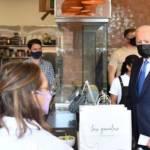 biden restaurante mexicano  - Biden compra tacos y enchiladas en restaurante mexicano