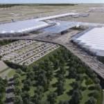 avance aeropuerto santa lucia  - Sorprende a especialistas de EU la rápida construcción de aeropuerto de Santa Lucía