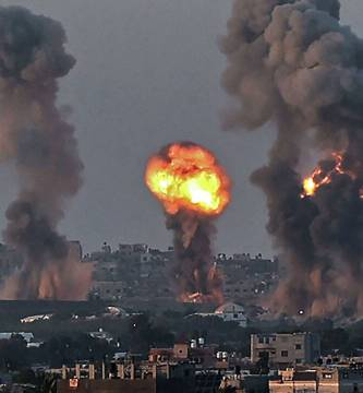 israel y palestina bombardeos - Israel realiza nuevo ataque contra la Franja de Gaza