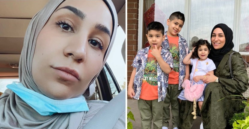 """portada no podia soportar sonido voz madre colapso exigencia hijo - """"I couldn't stand the sound of his voice"""": Mother collapsed before her son's constant demands. She is very tired"""