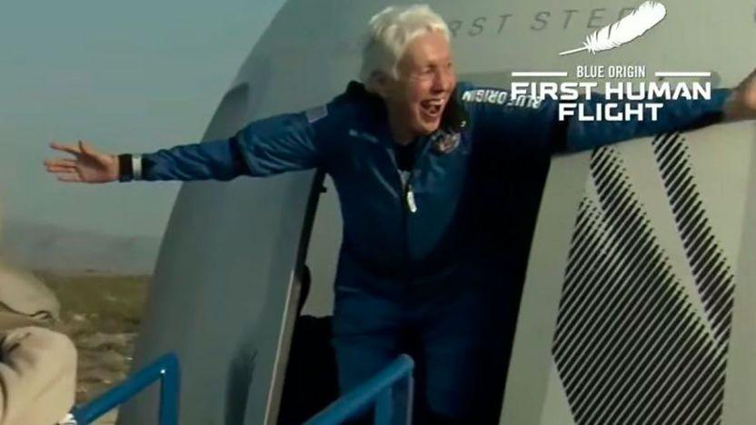 119504137 gettyimages 1234073282 1 - Wally Funk, la aviadora de 82 años que cumplió su sueño al volar con Blue Origin al espacio