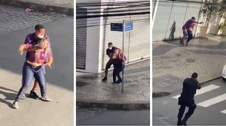 72278 13 - #Video Policías matan a ladrón que pretendía escapar con un rehén