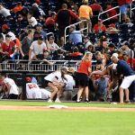 GettyImages 1234035030 - Tiroteo causa terror en pleno partido de béisbol en el estadio de los Washington Nationals