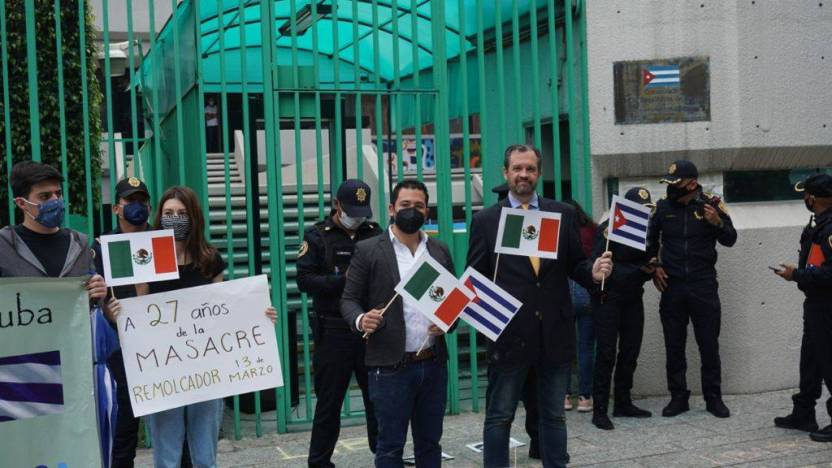 a bolio 2 - Él es René Bolio, presidente de la CMDPDH y exsenador panista acusado de subversión por Cuba