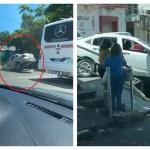 accidentes en cln.jpg 242310155 - ¿Y el gobierno? Por lo menos 3 carros se accidentan en el mismo desagüe de Culiacán (VIDEOS)