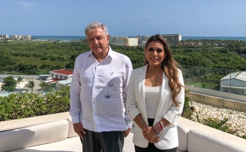 amlo se rexne con evelyn salgado crop1626685461088.jpeg 242310155 - AMLO se reúne con Evelyn Salgado, gobernadora electa de Guerrero